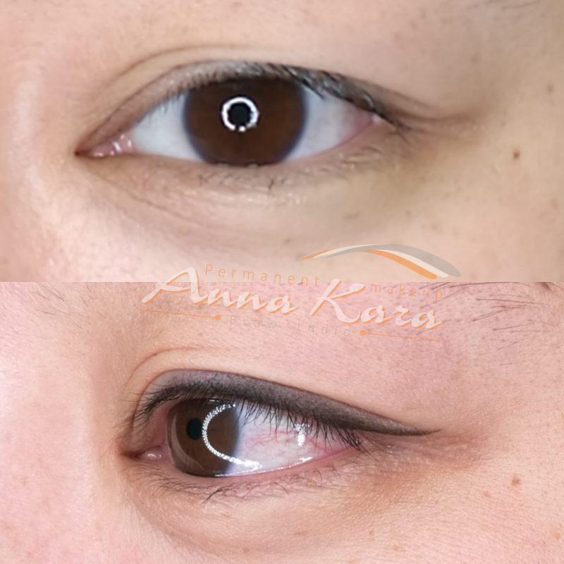 آرایش دائم چشم ، میکروپیگمنتیشن چشم ، مرکز میکروپیگمنتیشن چشم در تهران