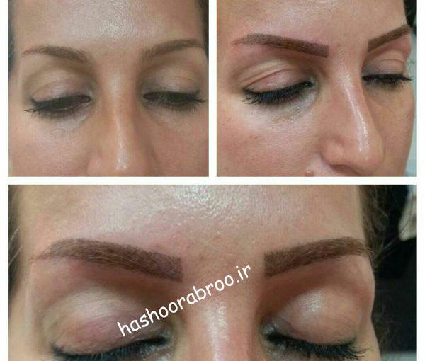 آموزش آرایش دائم میکروپیگمنتیشن